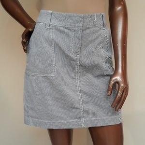 Like New Tommy Hilfiger Seersucker Preppy Skirt